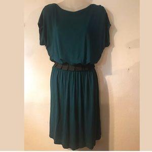 EUC THE LIMITED shirt dress size medium teal